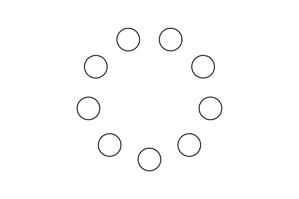 En cercle
